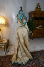 41 antique evening gown 1895