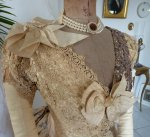 11a antique Ball gown 1880