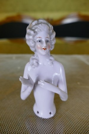 antique tea doll 1920