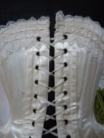 19 antique wedding corset 1880