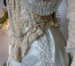 18 antique evening gown Worth 1894