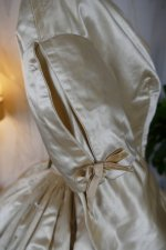 27 antique wedding dress 1845