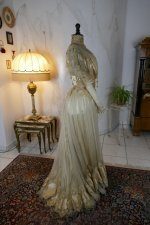 28 antique ball gown 1900