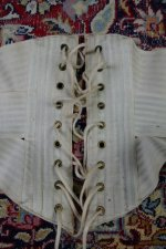 24 antique summer corset 1895