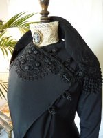4 antique Worth jacket 1908
