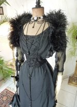 10 antique evening gown 1909