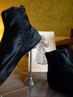 26 antique romantic period boots 1930