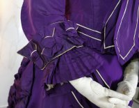 15 antique bustle dress 1874