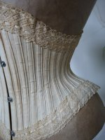 6 antique waist corset 1890