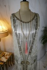 3 antique flapper evening dress 1920