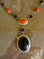2 antique necklace 1920