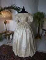 40 romantic period wedding gown 1835