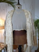 102 antique silk coat 1906