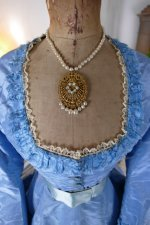4 antique ball gown 1864