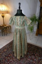 2 antique children dress 1856