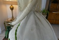 12 antique ball gown 1865