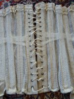 33 antique summer corset 1890