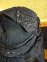 17 antique mourning hat 1910