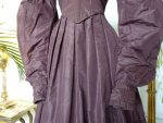 6 antique romantic period gown 1837