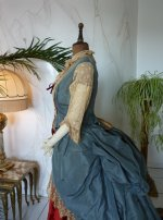 13 antique Ball gown 1876
