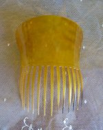 7 antique haircomb