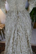 1 antique ALTMANN Battenburg lace dress 19034