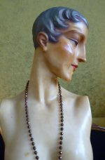 5 antique wax mannequin 1920