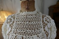 1 antique lace blouse 1916