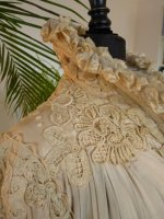 12 antique opera coat