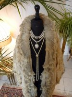 5 antique opera coat