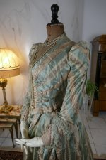 36 antique dress Bondeaux sisters 1889