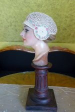 7 antique boudoir cap