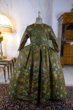 16 antique childs court dress 1760