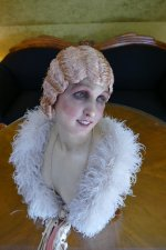15 antique hair cloche 1920