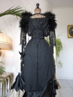 9 antique evening gown 1909