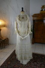 2 antique bustle lingerie 1880