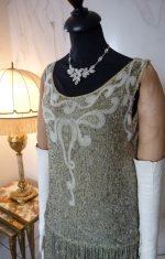 3 antique flapper dress 1925