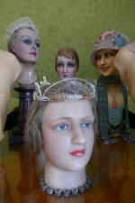 8 antique mannequins