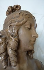 11 antique female bust