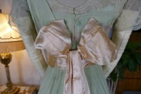 32 antique Jeanne Halle dress 1912