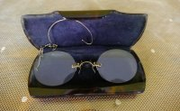 7 antike Brille 1890