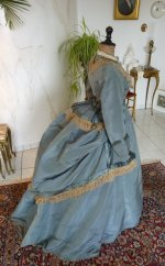 16 antique reception gown 1865