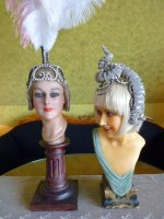 91 antique headpiece 1920