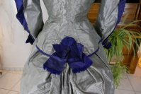 20 antique bustle dress 1884