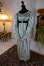 12 antique regency dress 1818