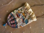 10 antique beaded Purse 1825