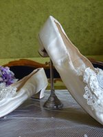 16 antique wedding shoes 1855