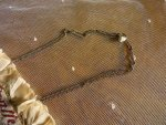 16 antique beaded Purse 1825