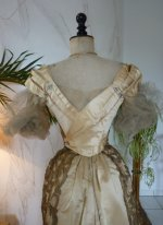 34b WORTH evening dress 1898