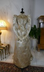 2 antique dress Maison Lipmann 1896